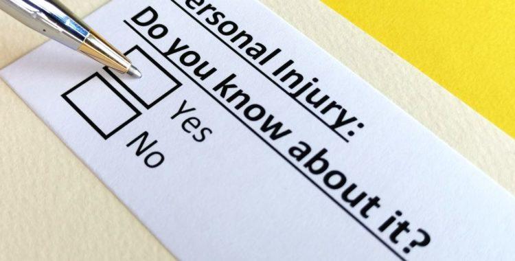 ¿Cuándo un Accidente es Considerado Como Lesión Personal?