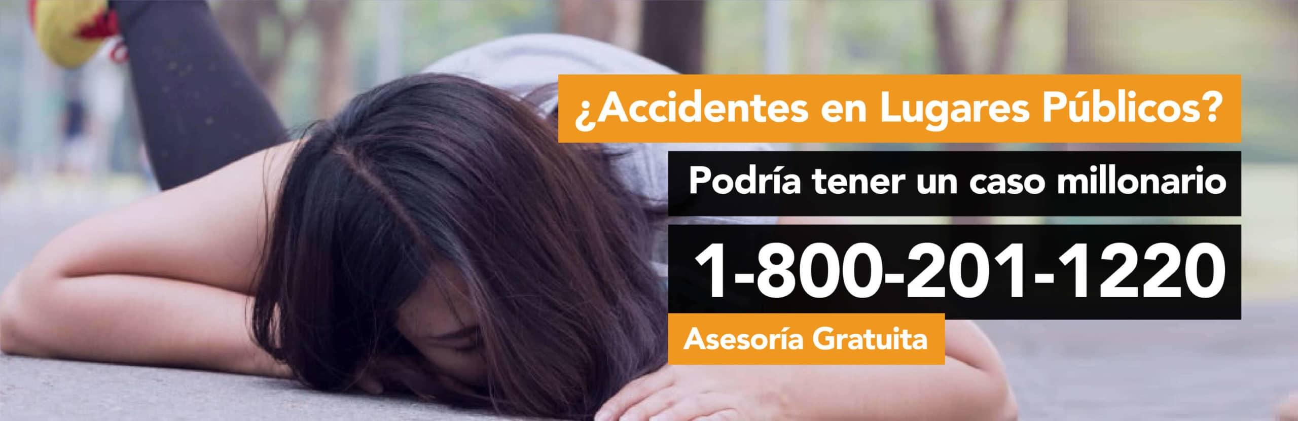 Accidentes en Lugares Públicos