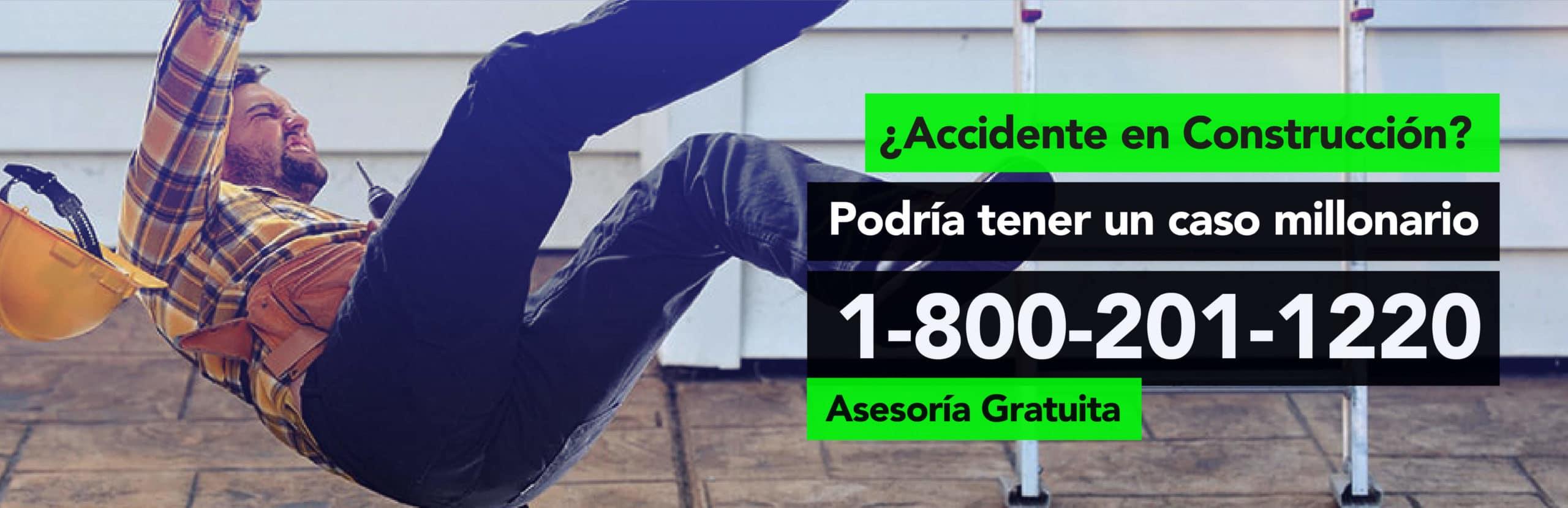 Accidente en Construcción